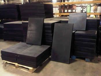Vulcanized Ballistic Rubber Multiple Sizes Call For